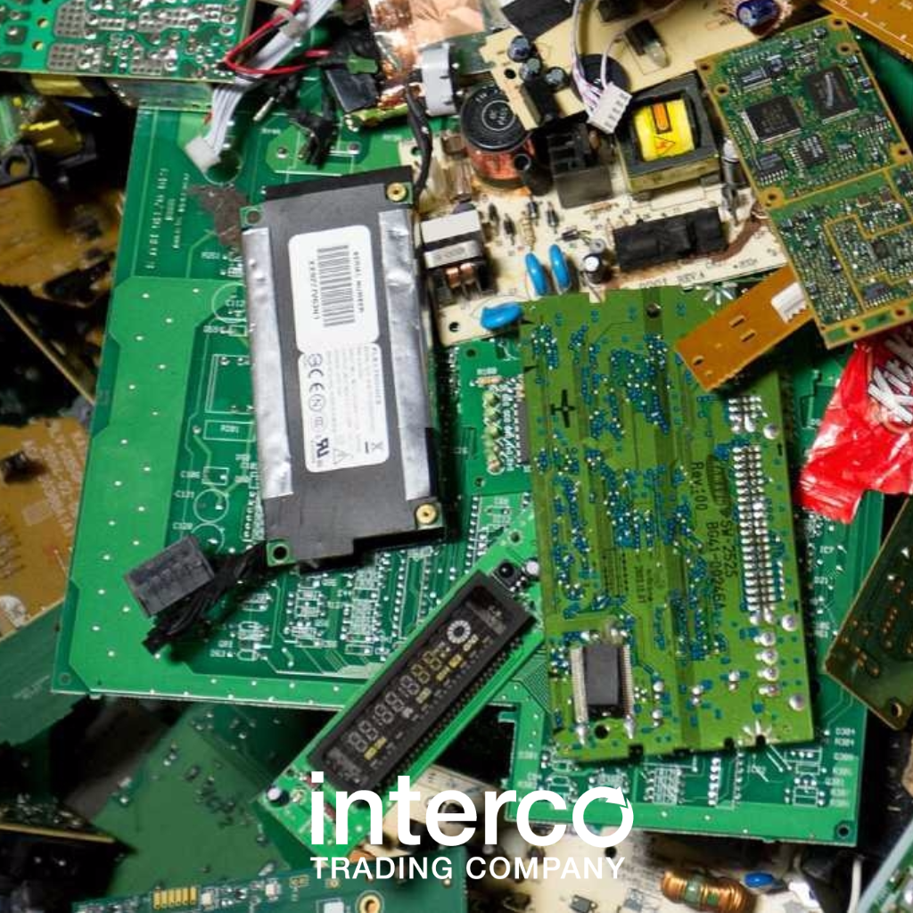 Electronics And Precious Metal Recycling Interco Trading Company Recycle Circuit Boards Concept Of Electronic Junk