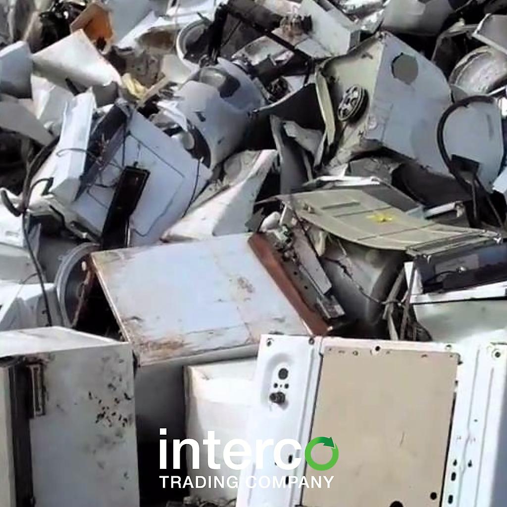 recycling metal at Interco