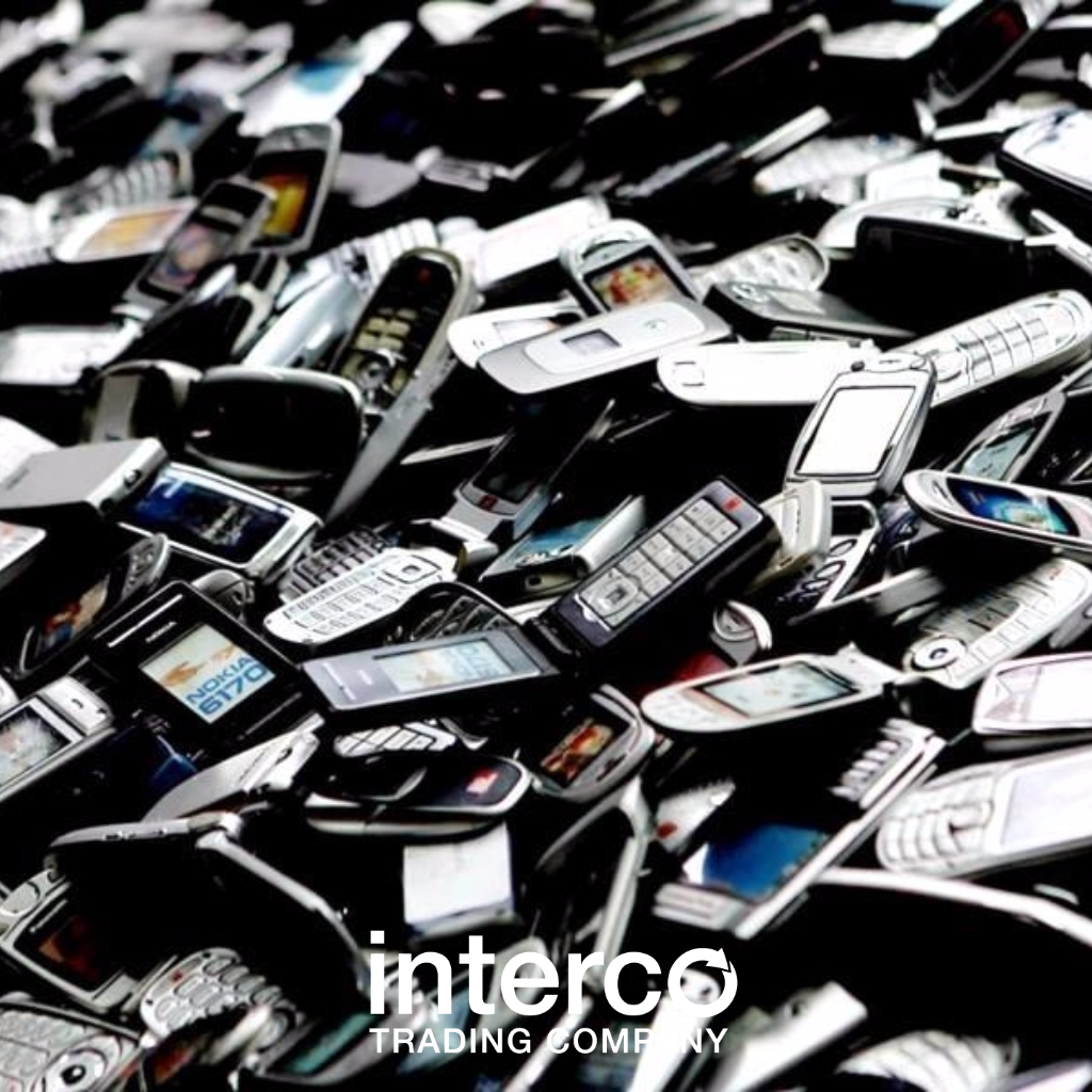 Recycled e-scrap cell phones