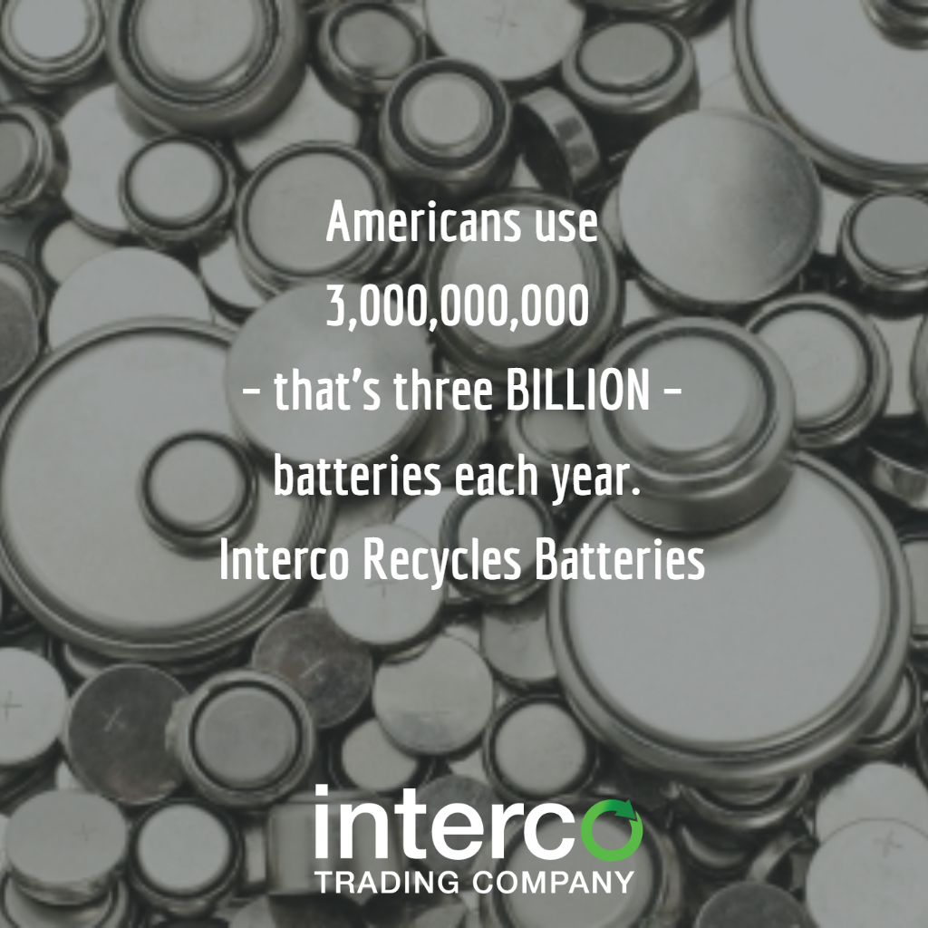 You Should Recycle Batteries
