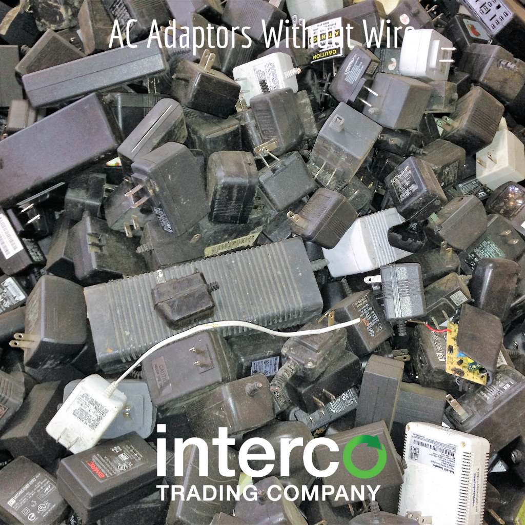 AC Adapters Without Wire -- Electronics & Precious Metal Recycling
