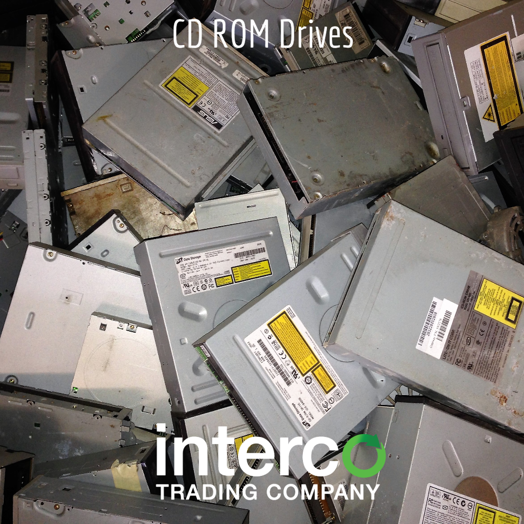 CD ROM Drives-- Electronics & Precious Metal Recycling