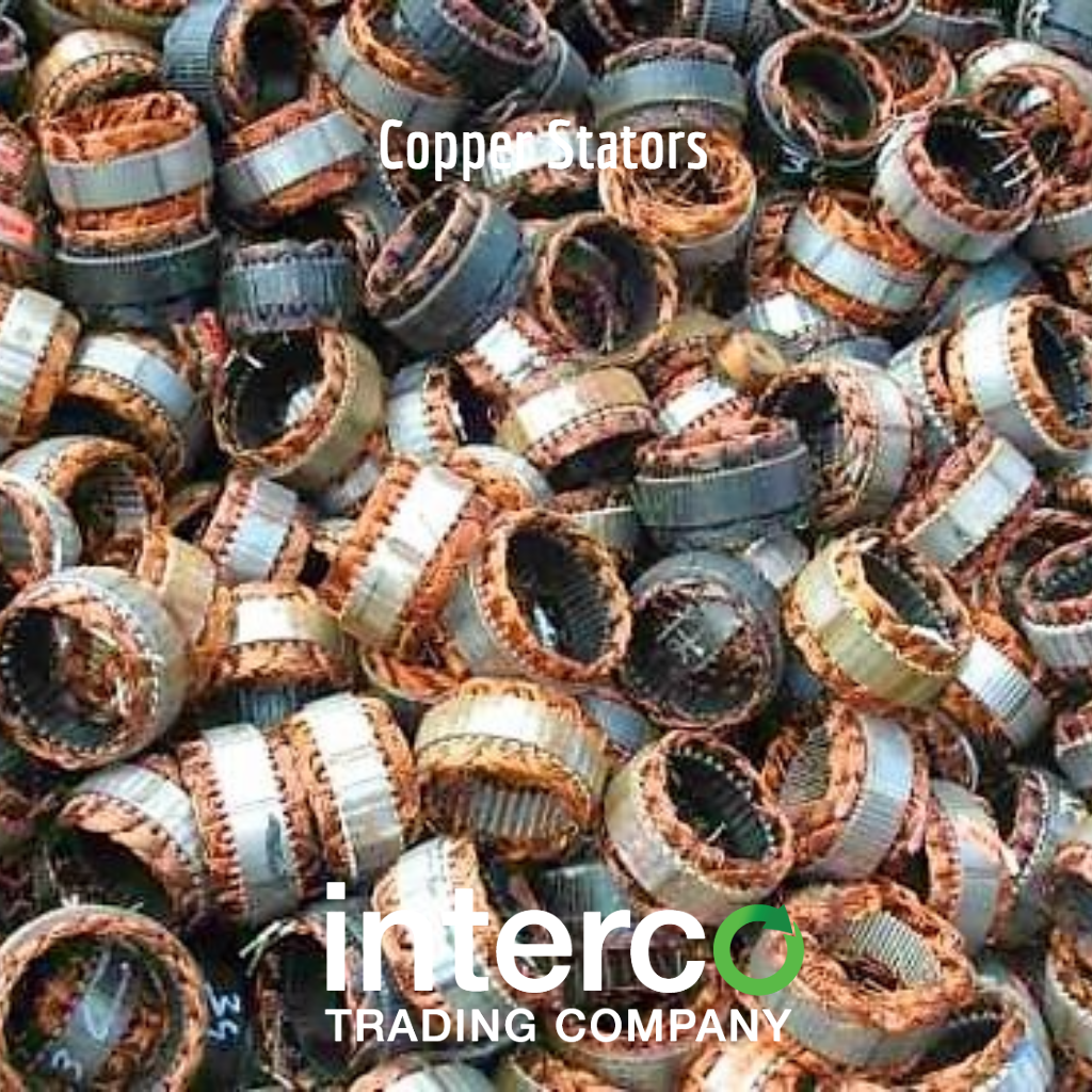 Recycling Copper Iron Materials