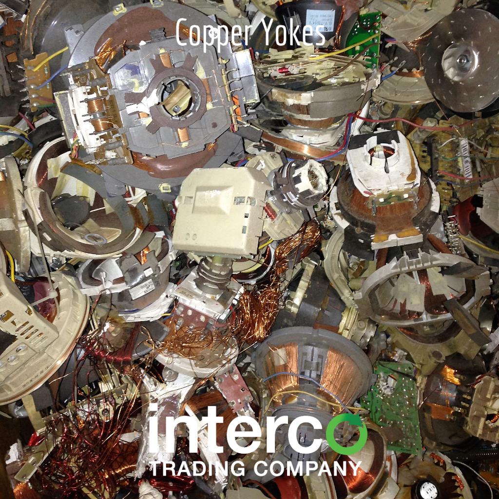 Copper Yokes -- Electronics & Precious Metal Recycling
