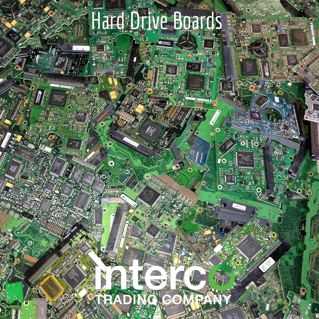 Hard Drive Boards -- Electronics & Precious Metal Recycling