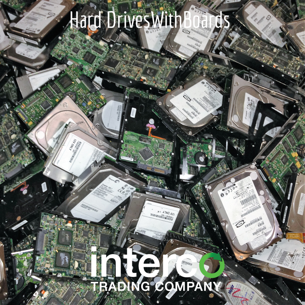 Hard Drives With Boards -- Electronics & Precious Metal Recycling