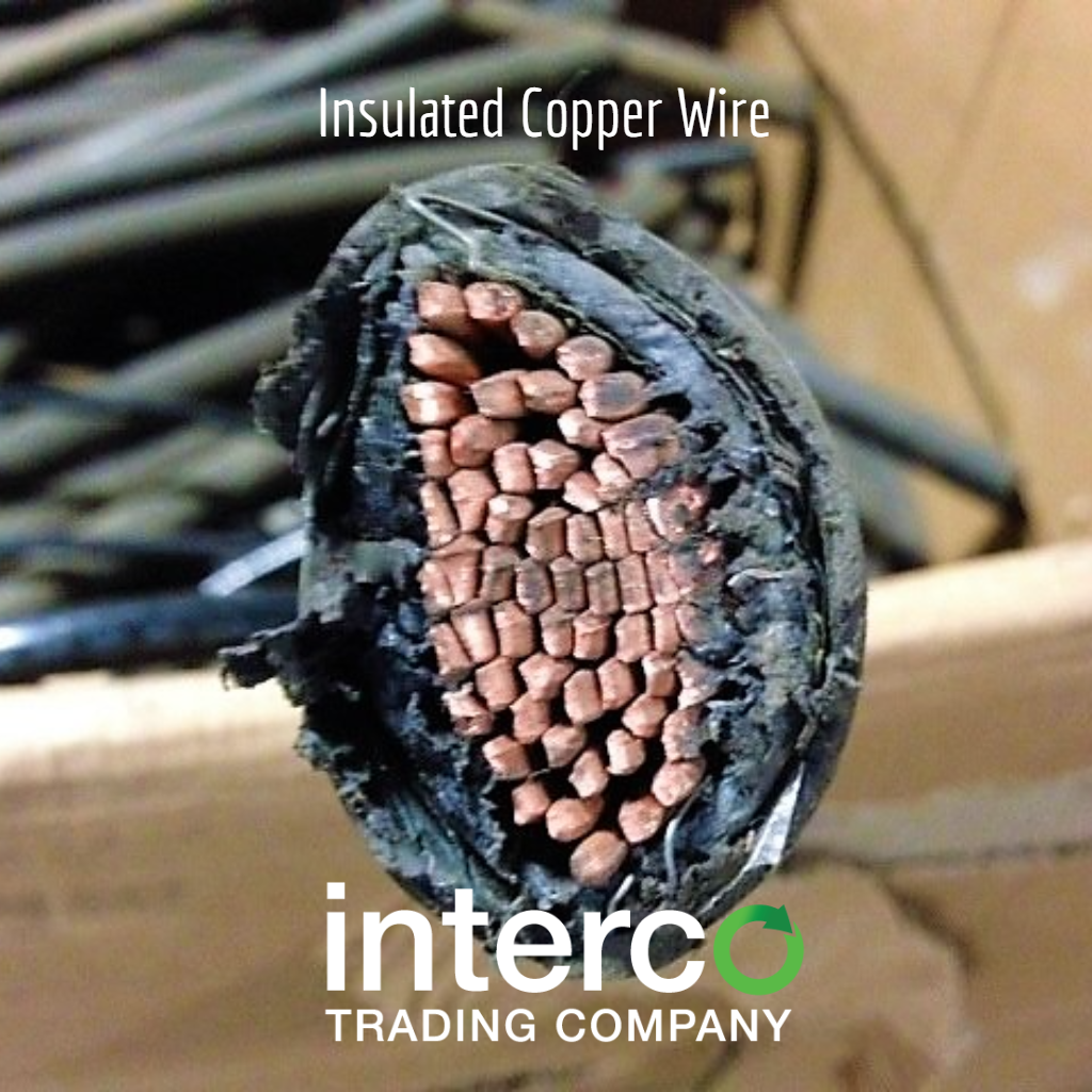 Insulated Copper Wire -- Recycling Scrap Red Metals