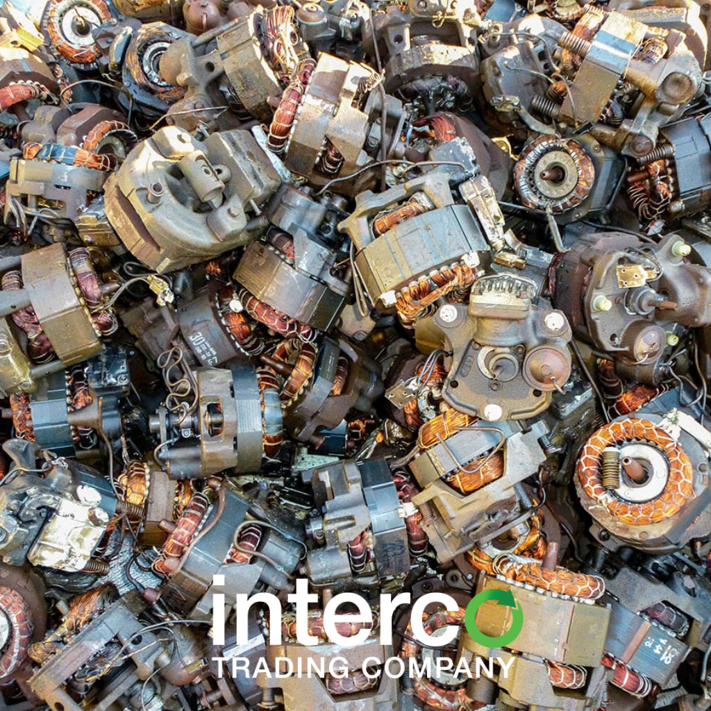 Non ferrous metals recycling interco trading company for Electric motor scrap price