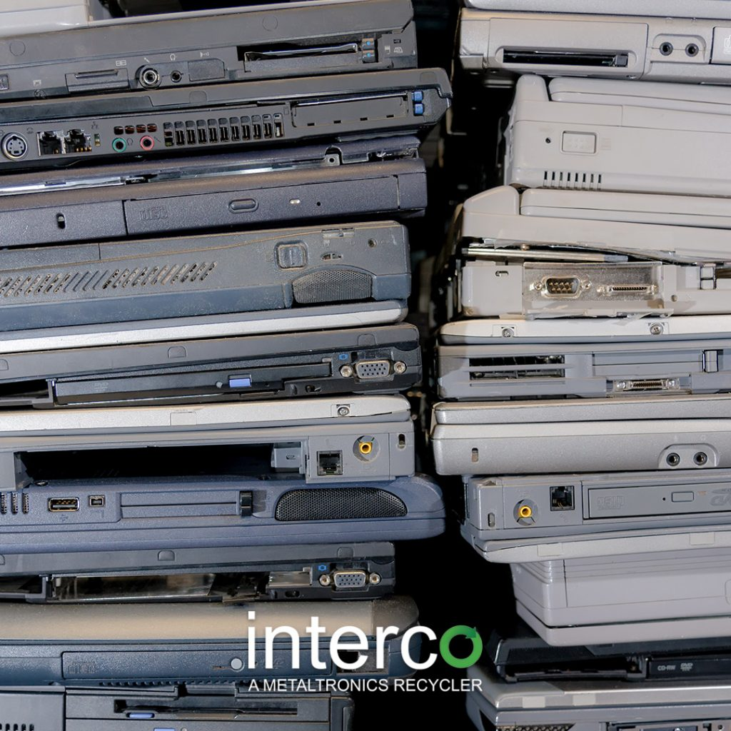 Certified scrap eScrap recycler